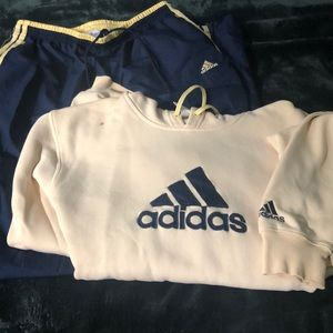 BUNDLE: Adidas Trackpants with matching Hoodie!